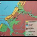 Zuid-Holland in de Romeinse tijd. Rondom de Maasmonding vermoeden we minstens twee forten, misschien meer.