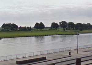 De Maasboulevard in Cuijk.