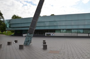 Museum het Valkhof ligt ongeveer op de plek van Oppidum Batavorum.