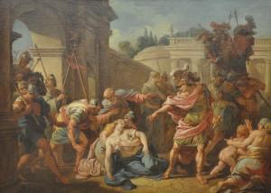 Horatius doodt zijn zuster zonder pardon.