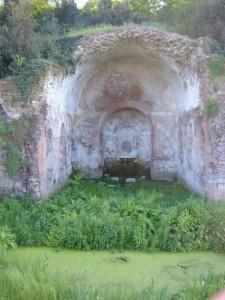 De Ninfeo d'Egeria in Rome.