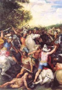 Ofschoon zijn troepen door de Albanen in de steek werden gelaten, wist Tullus Hostilius Veii en haar bondgenoten alsnog te verslaan.