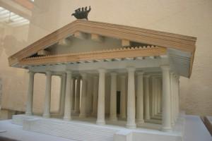 Mogelijk zag de tempel op het Capitool er zo uit.
