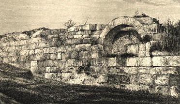 De Muur van Servius Tullius (tekenaar onbekend)