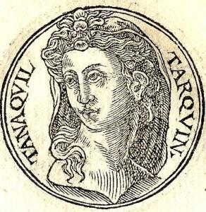 Tanaquil, de pientere vrouw van Tarquinius Priscus, kreeg al snel door dat Servius voor het koningschap bestemd was.
