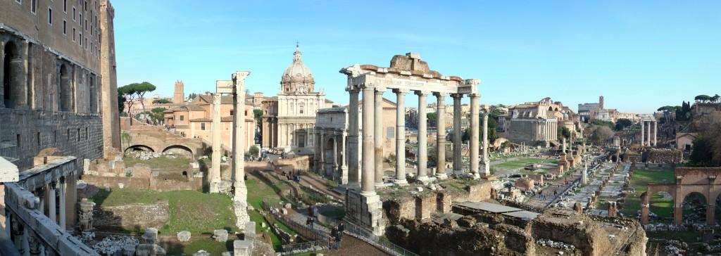 De meeste openbare processen vonden in de Republiek gewoon op het Forum plaats. (De meeste ruïnes die daar nu staan zijn uit de Keizertijd, dus vele eeuwen later)