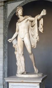 De god Phoebus Apollo kwam rechtstreeks uit Griekenland.