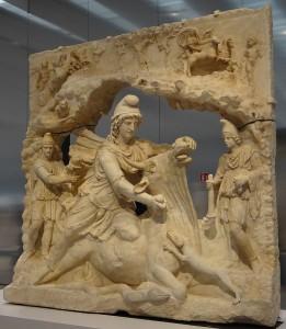 De geheimzinnige Mithras wordt vaak als een Romeinse versie van de Perzische Mithra gezien, maar echt bewezen is dat niet.