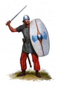 """Een Keltische elitekrijger. Voor een """"barbaar"""" ziet hij er anders best ontwikkeld uit, niet?"""