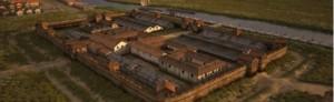 De app van Timetravel.world geeft een prachtige digitale weergave van dit fort.