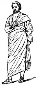 De meer praktische pallium verdrong langzaam de toga, maar werd niet meteen met gejuich ontvangen.