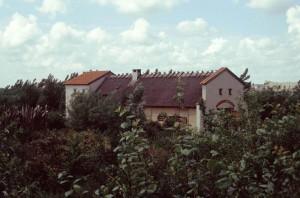 De villa van Rijswijk is bij Archeon nagebouwd als het Archeologiehuis Zuid-Holland.