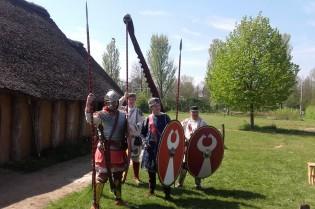 Héél andere Romeinse soldaten dan ik gewend ben!