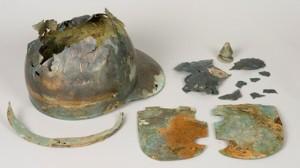 De helm van Kesteren bevindt zich momenteel in Museum het Valkhof. Hoewel hij uit elkaar ligt zijn de onderdelen vrijwel compleet.