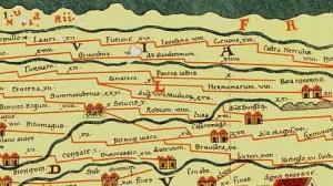 De positie van Castra Herculis tussen Carvium en Noviomagus op de Peutingerkaart heeft geleid tot de conclusie dat Carvium Kesteren is en Arnhem Castra Herculis. Waarschijnlijk lag Herculis ook bij Nijmegen en was Carvium Herwen.