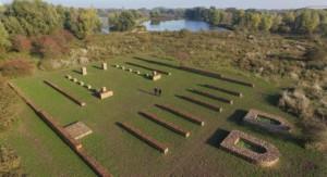 Luchtfoto van de visualisatie van het fort. Bron: dafarchitecten.nl)