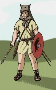 De velites zijn echt uit de tijd van de republikeinse milities. Na de hervormingen van Marius verdwenen zij.