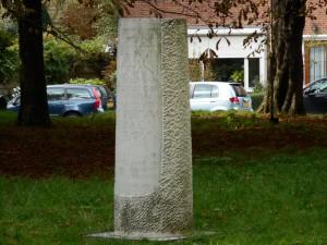 Forum Hadriani lag ter hoogte van Park Arentsburgh in Voorburg.