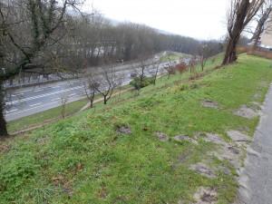 Met zijn steile noordzijde, korte afstand tot Maas en Waal, was de Hunnerberg uitermate geschikt als militair punt.