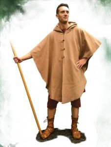 Undones (sokken), braccae (broek) en paenula (mantel/jas). Deze soldaat is klaar voor de herfst!