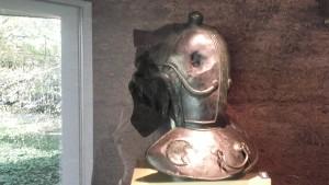 IJzeren helm gevonden bij Empel.