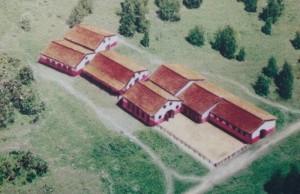 De stallen en cavaleriebarakken moeten opvallend genoeg buiten het castellum gelegen hebben.